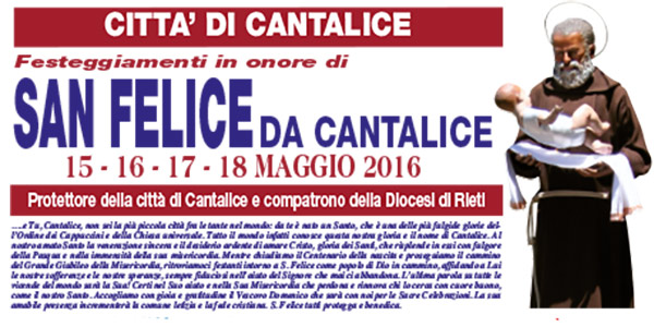 La personalità e la spiritualità di San Felice da Cantalice