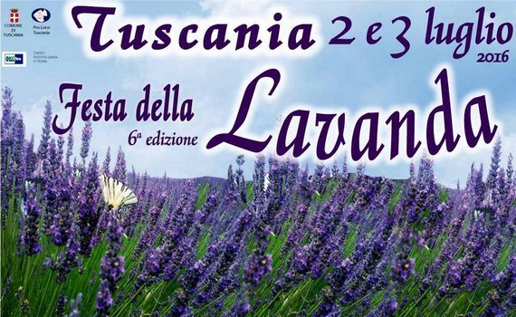 In Tuscania per la 6ª edizione  della Festa della Lavanda
