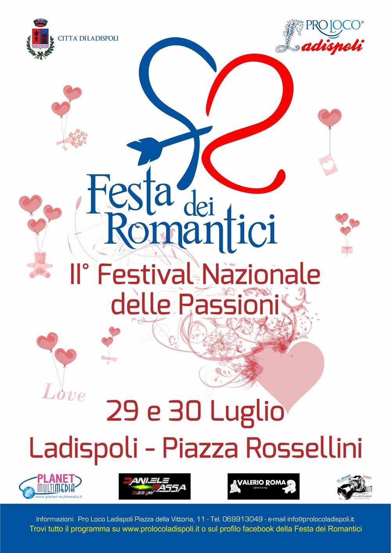 Festa dei Romantici - Locandina A4 - 2016 articolo
