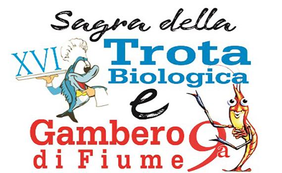 Sagra della Trota Biologica e del Gambero di Fiume a Rivodutri
