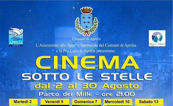 Aprilia presenta: Il cinema sotto le stelle!