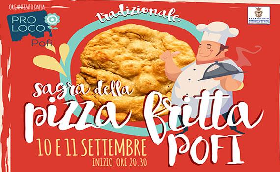 Sagra della Pizza Fritta organizzata dalla Pro Loco di Pofi