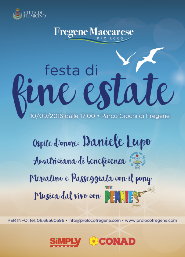 fine estate festa fregene