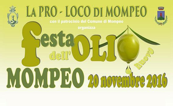 Festa Dell'Olio Nuovo organizzata dalla Pro Loco di Pompeo