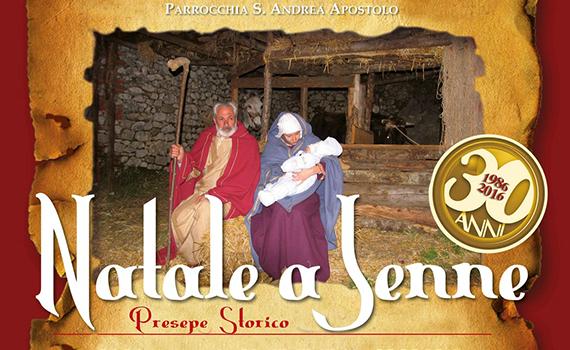 """30ª  Edizione  """"Natale a Jenne"""" organizzato dalla Pro Loco di Jenne"""