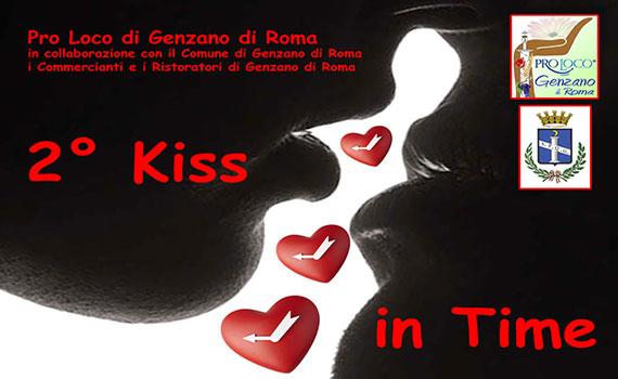 Kiss In Time degli innamorati a Genzano di Roma