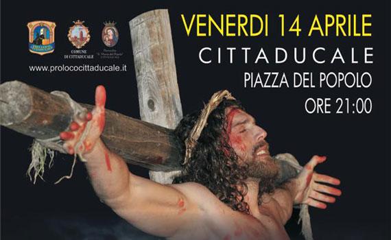"""A Cittaducale la """"Sacra Rappresentazione della Passione"""""""