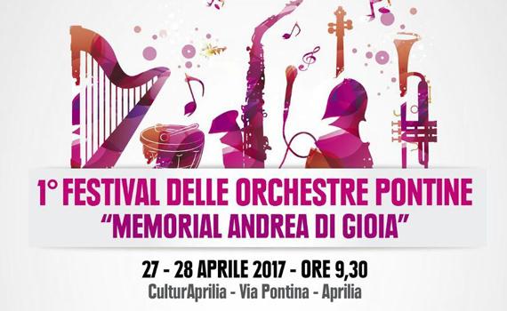 """Festival delle Orchestre Pontine """"Memorial Andrea Di Gioia"""""""