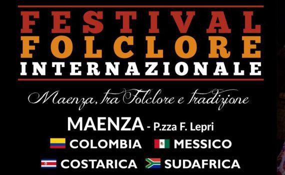 A Maenza il 21 e 23 luglio ci sarà il Festival Folclore internazionale