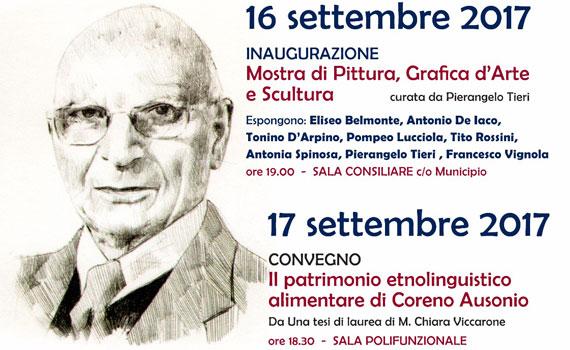 La Pro Loco Ausonio il 16 e 17 settembre ricorda Antonio Lisi