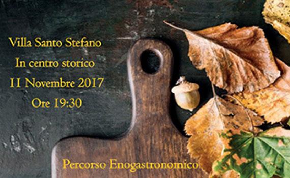 """Villa Santo Stefano da il via ai """"Sapori e colori dell'autunno"""""""