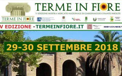 """La Pro Loco di Civitavecchia organizza la IV edizione di """"TERME IN FIORE"""""""