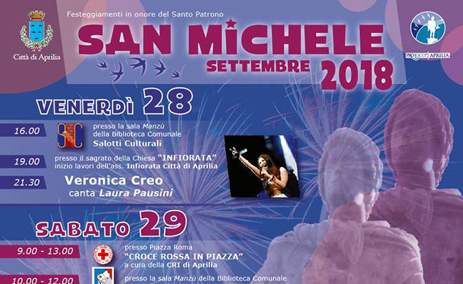 Aprilia presenta i festeggiamenti del Patrono San Michele Arcangelo