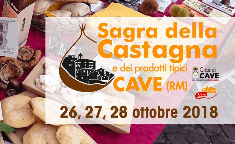 Sagra della Castagna e dei prodotti tipici locali di Cave