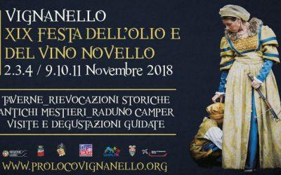 XIX Festa dell'Olio e del Vino novello