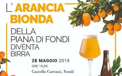 L'arancia bionda della Piana di Fondi diventa birra