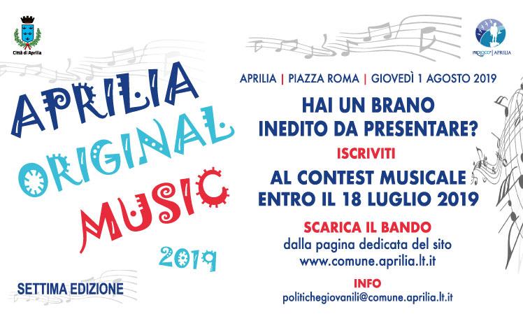Torna il Concorso Musicale Aprilia Original Music