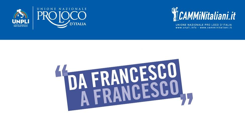 """Cammini: 17 tappe e 273 chilometri per la staffetta da """"Francesco a Francesco"""""""