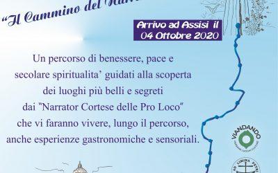 """""""Da Francesco a Francesco"""" – Il cammino del Narrator Cortese"""