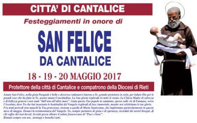 Festeggiamenti in onore di San Felice da Cantalice