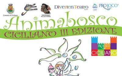 A Ciciliano il 30 luglio la 3ª edizione di AnimaBosco